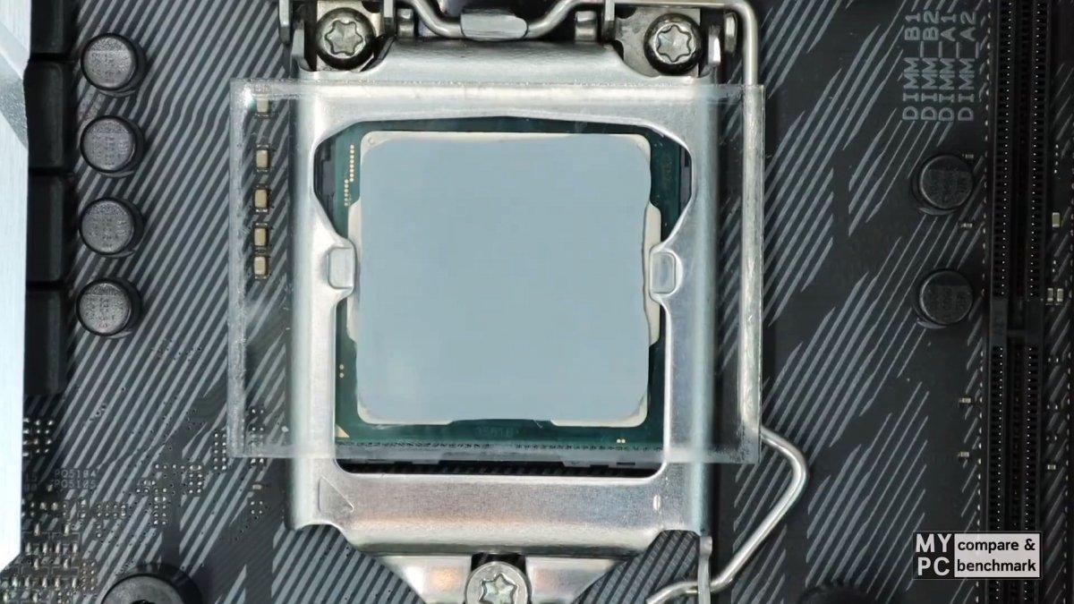 Какой способ нанесения термопасты на процессор самый лучший?