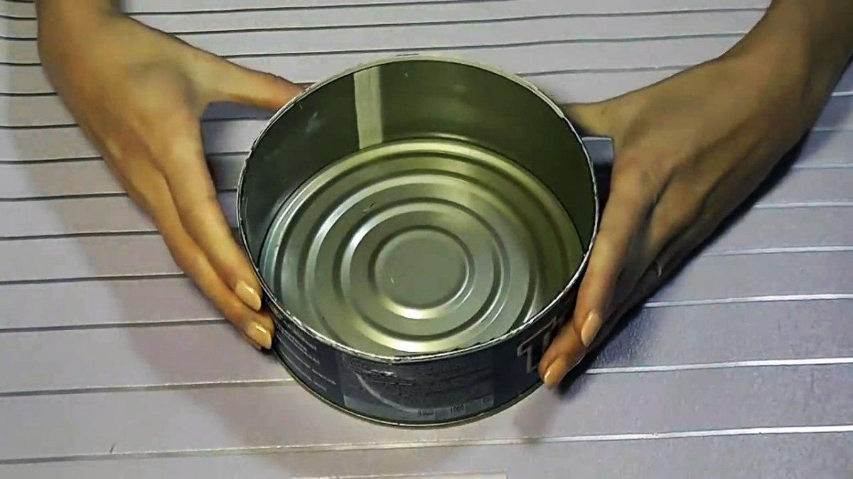 6 поделок для декора из консервных банок