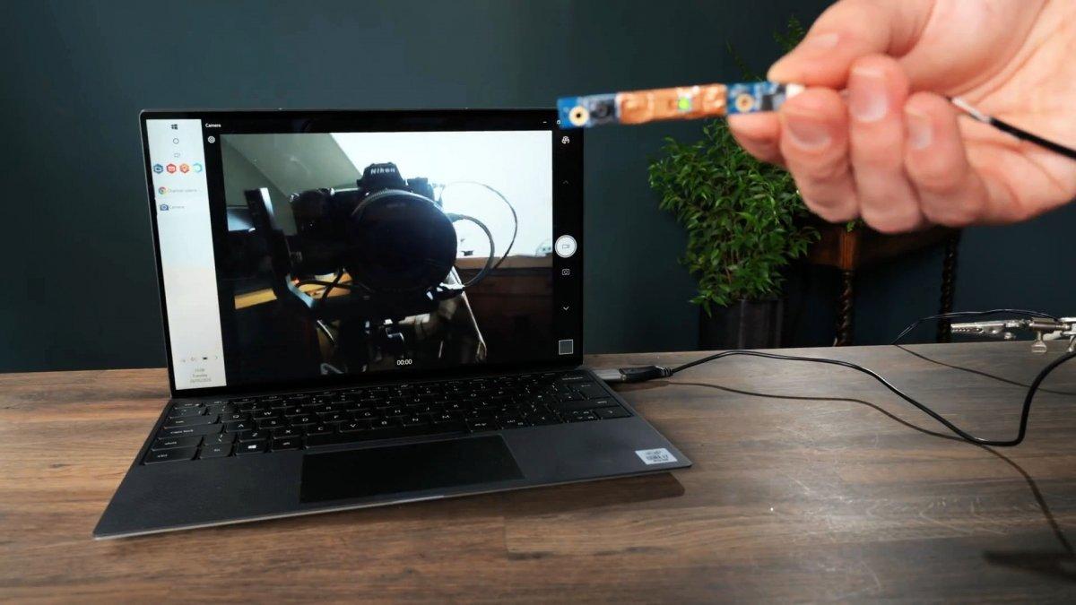 Как подключить камеру из старого ноутбука к USB