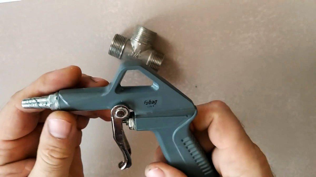 Как сделать пистолет для быстрого нанесения штукатурки и шпаклевки