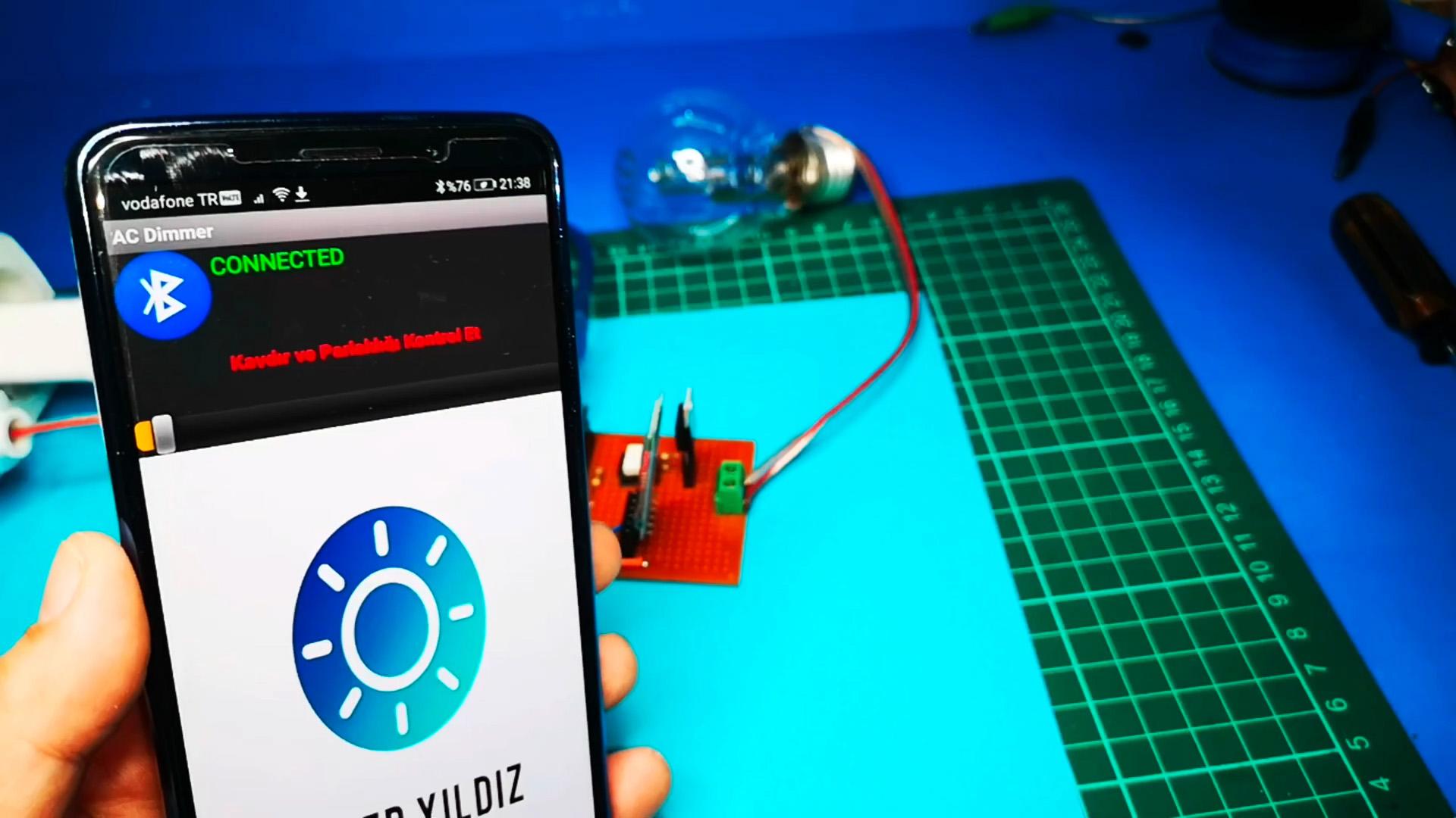 Как сделать простой диммер для управления светом со смартфона на Ардуино