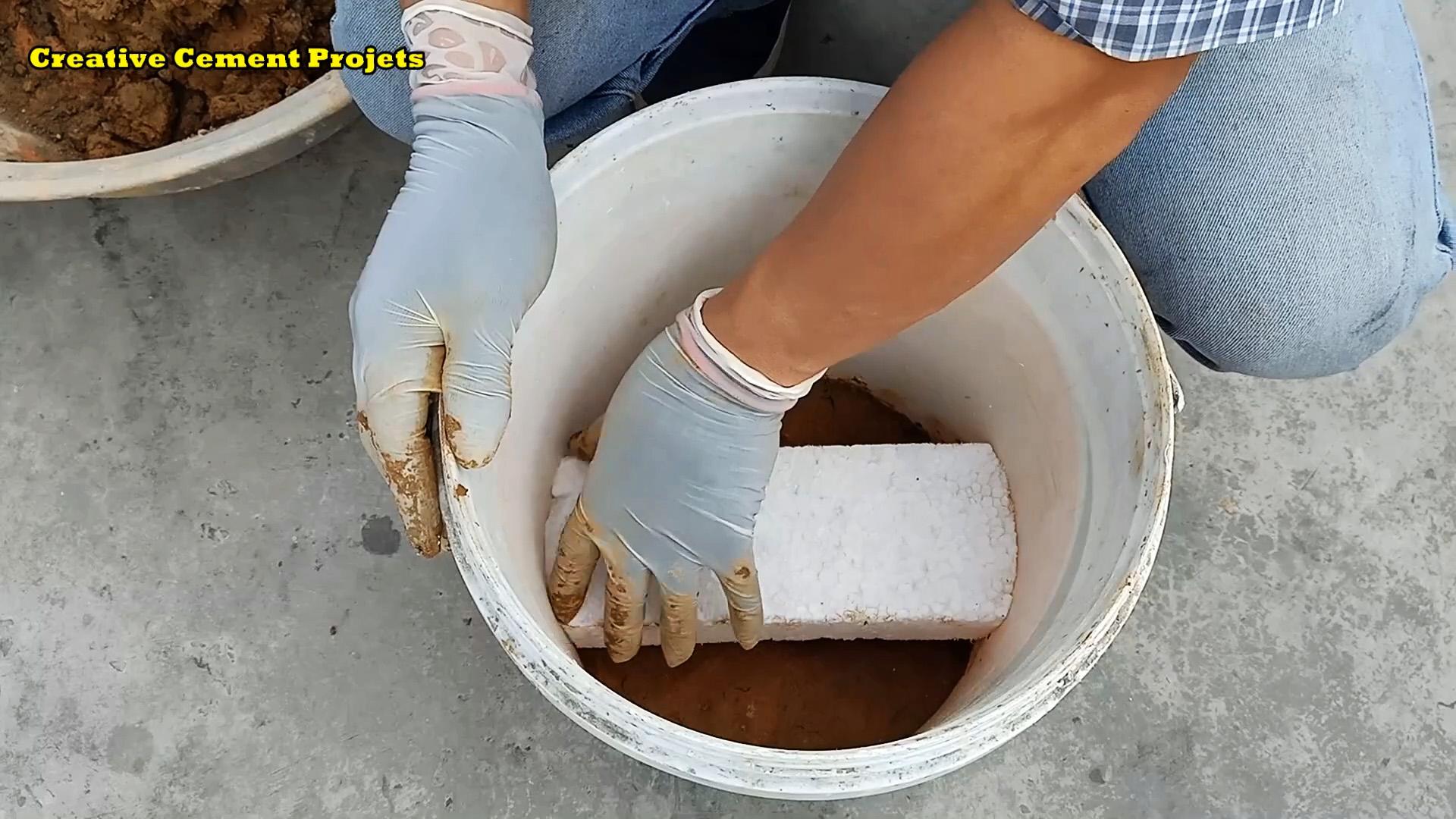 Как из глины и цемента сделать компактную печку для готовки