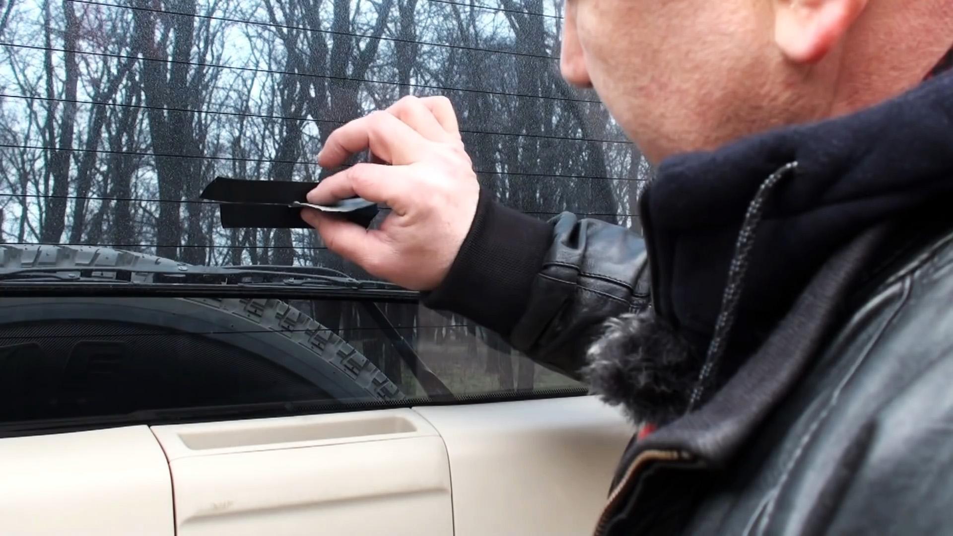 Как просто отремонтировать перегоревшую нить подогрева стекла