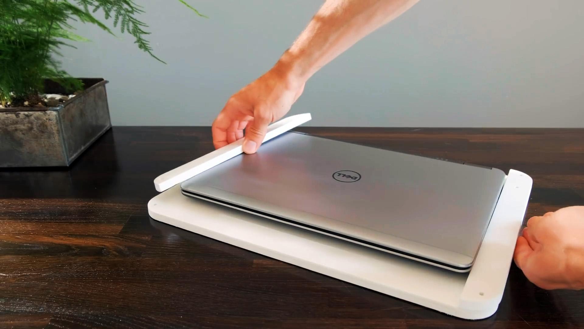 Как сделать док-станцию для ноутбука, чтобы постоянно не подключать кучу проводов