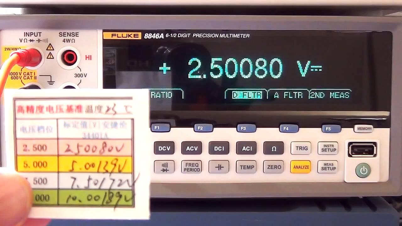 Как проверить точность мультиметра и зачем электронику дома источник опорного напряжения AD584