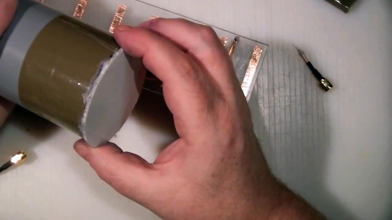 Дальнобойная WiFi антенна из ПВХ трубы своими руками