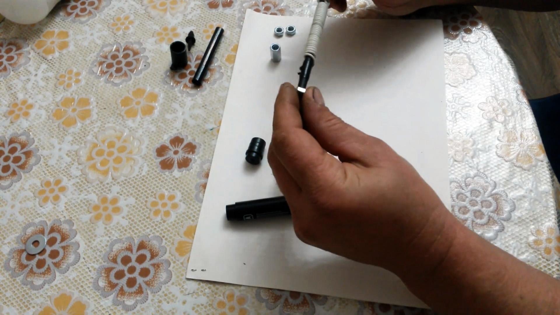 Как из маркера сделать миниатюрную и чувствительную антенну FM приемника вместо длинного провода