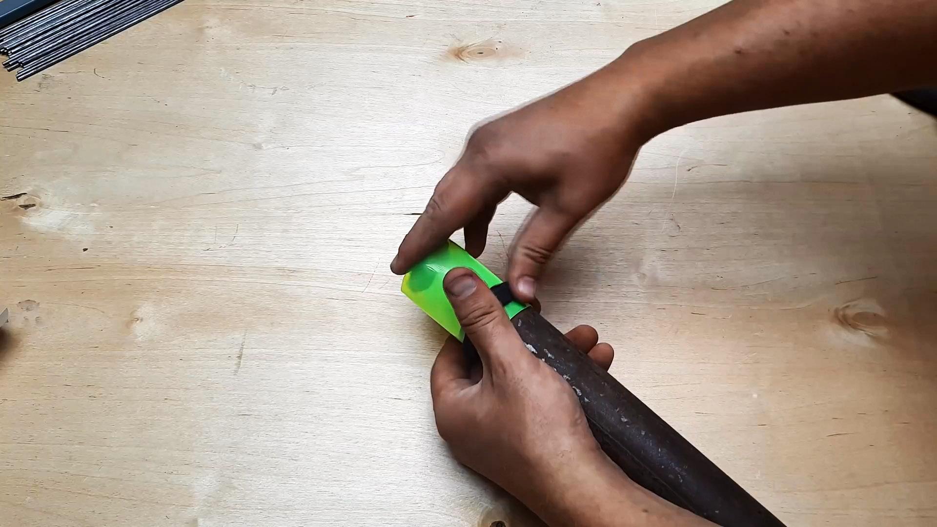 Как сделать регулируемый шаблон для идеальной подрезки труб под сварку