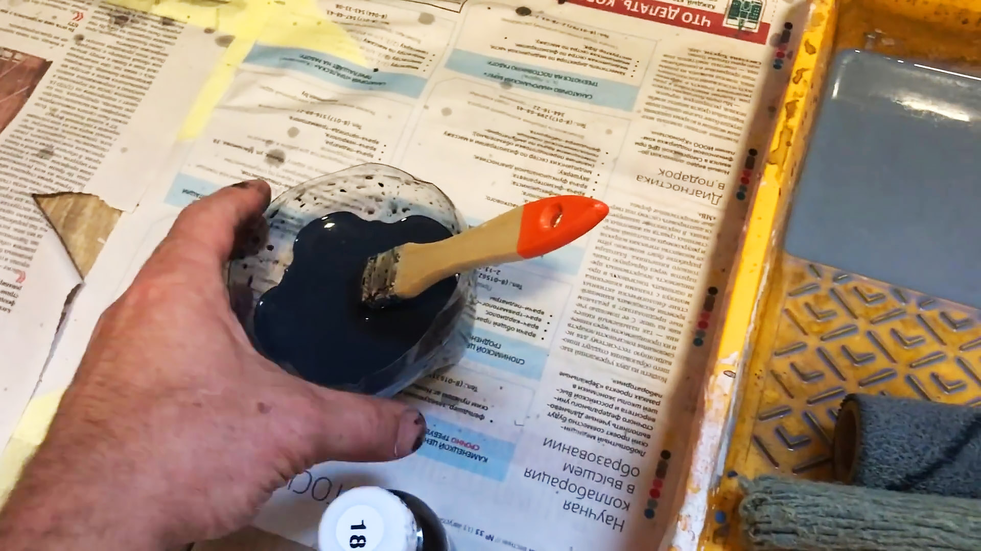 Как сделать копеечную имитацию настенной плитки из штукатурки