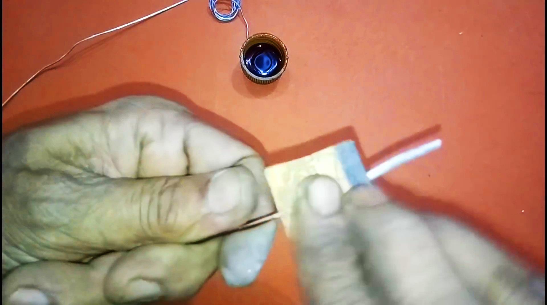 Наипростейший способ спаять алюминиевые провода без специальных флюсов