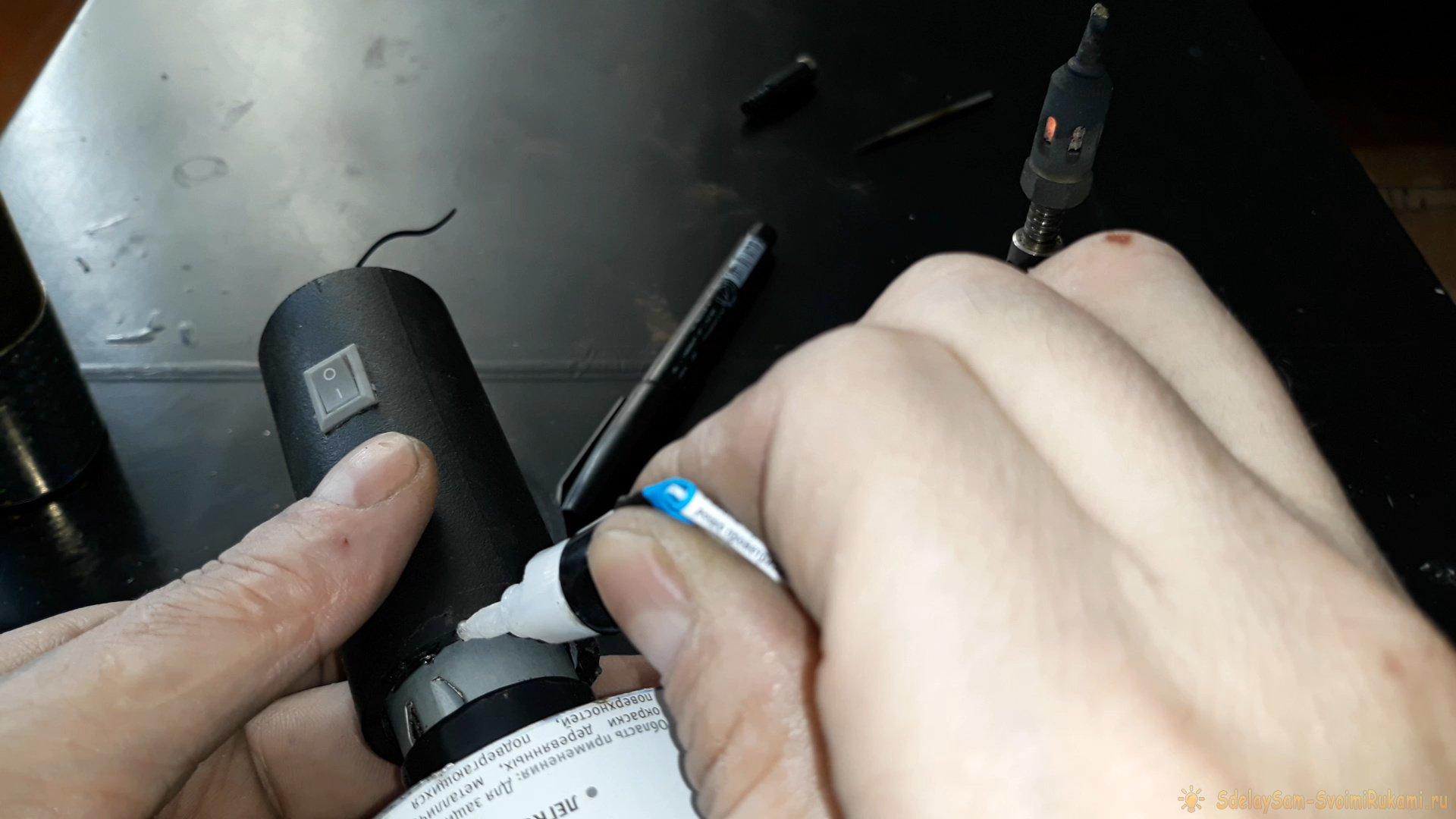 Как сделать электрический раздуватель углей для мангала