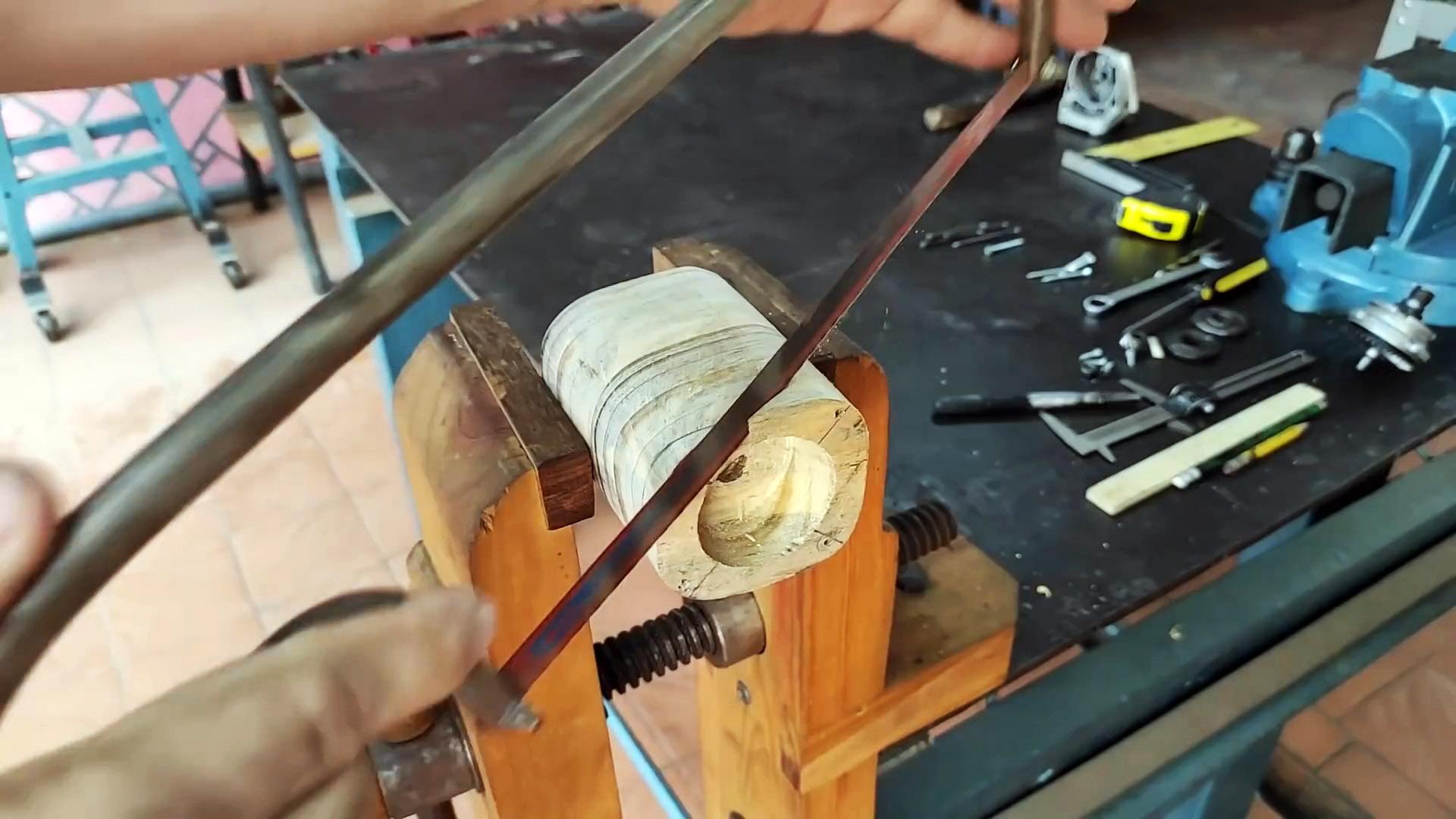 Ручная дрель из редуктора старой болгарки