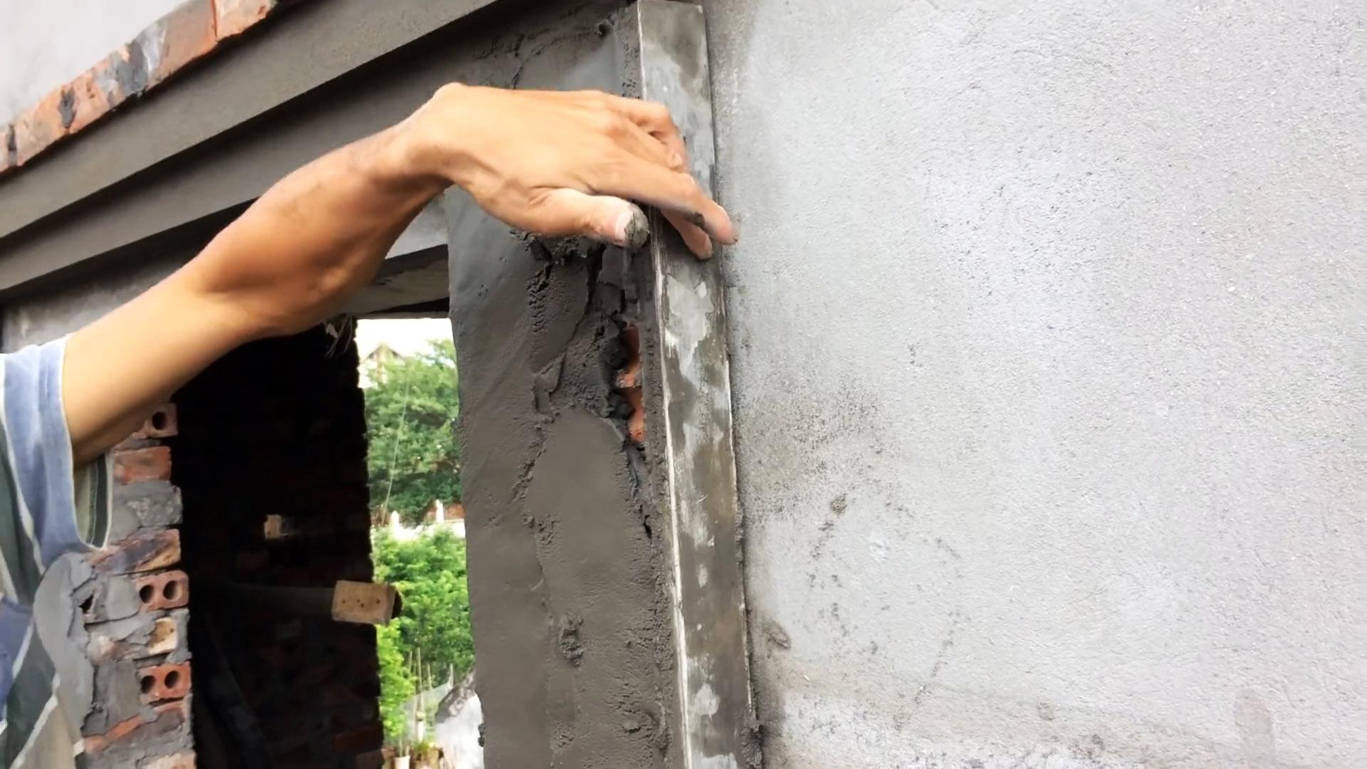 Как сделать красивое обрамление оконных или дверных проемов