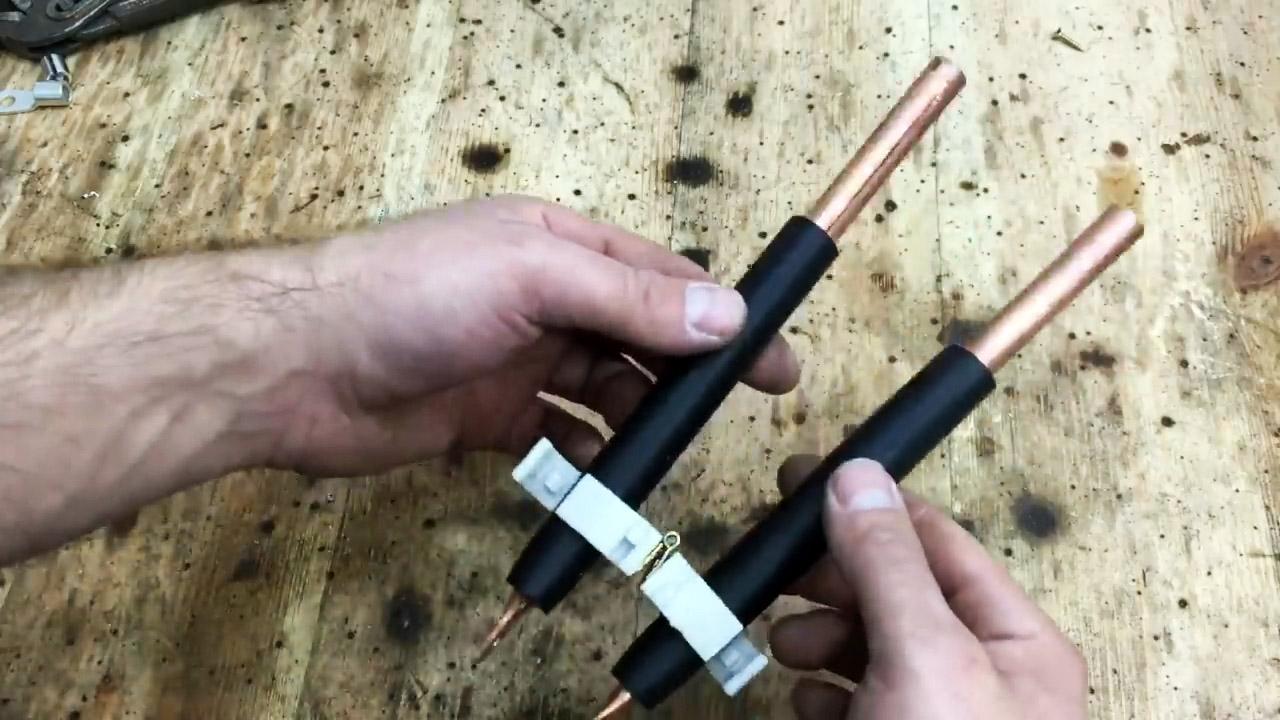 Как из трансформатора микроволновки сделать мощный контактный паяльник