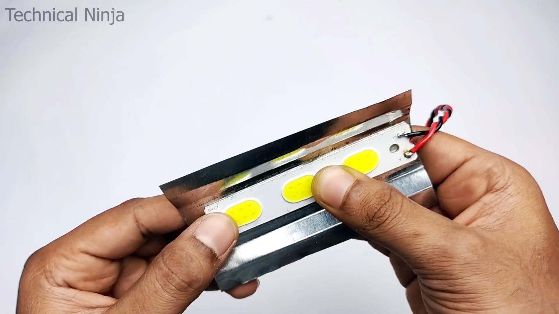 Как сделать аварийный аккумуляторный фонарь для любых ситуаций