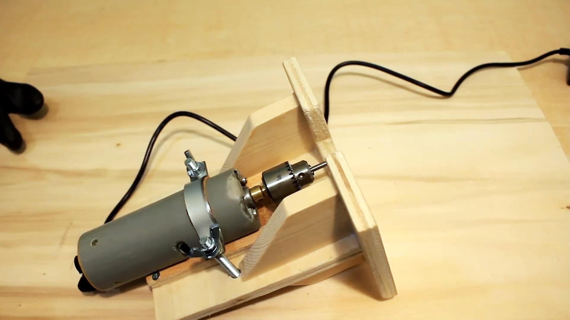 Самодельная мощная бормашина с фрезерной базой