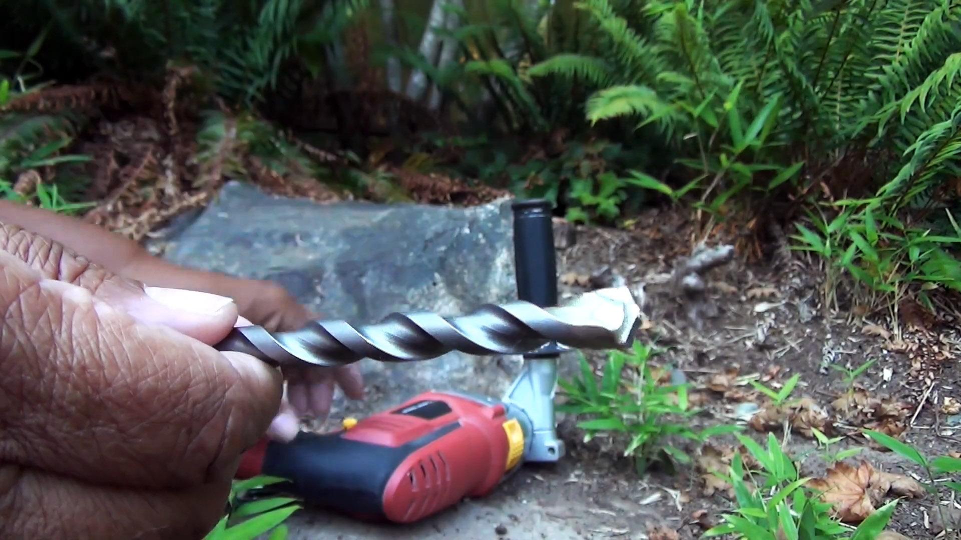 Как и чем просверлить натуральный камень, и установить в него крепеж