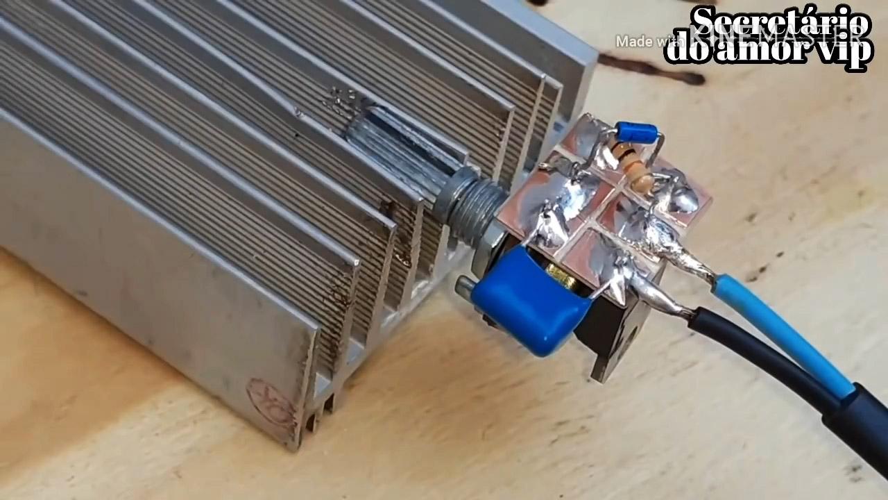 Как сделать простейший диммер на 220 В