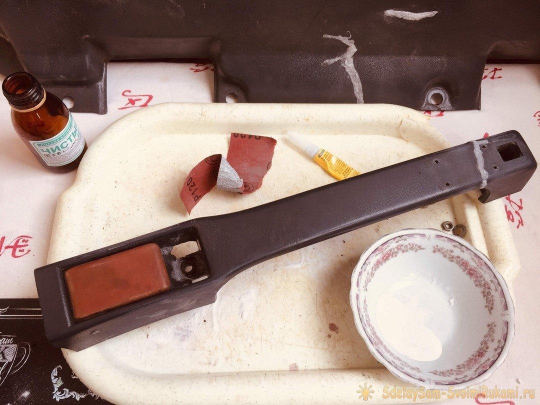 Суперклей и сода: холодная сварка автомобильного пластика