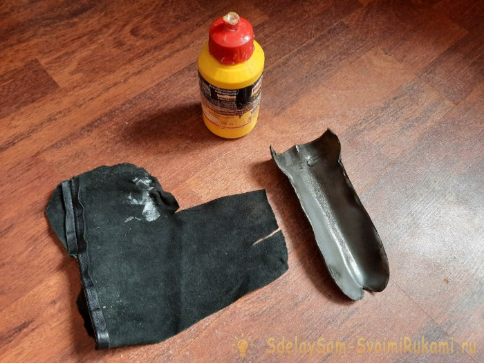 Как сделать ножны для ножа из ПВХ трубы и кожи