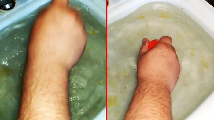 Как прочистить слив раковины или ванной ПЭТ бутылкой