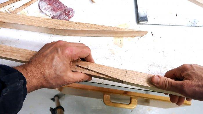 Как выполнить сращивание дерева встык и сделать длинный карниз