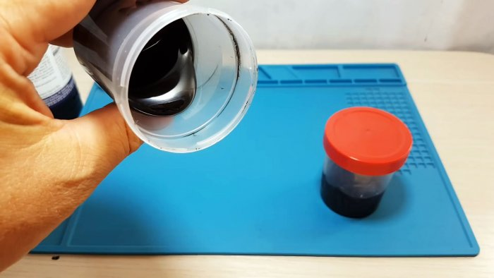 Как сделать жидкий пластик и покрыть им ручки инструмента