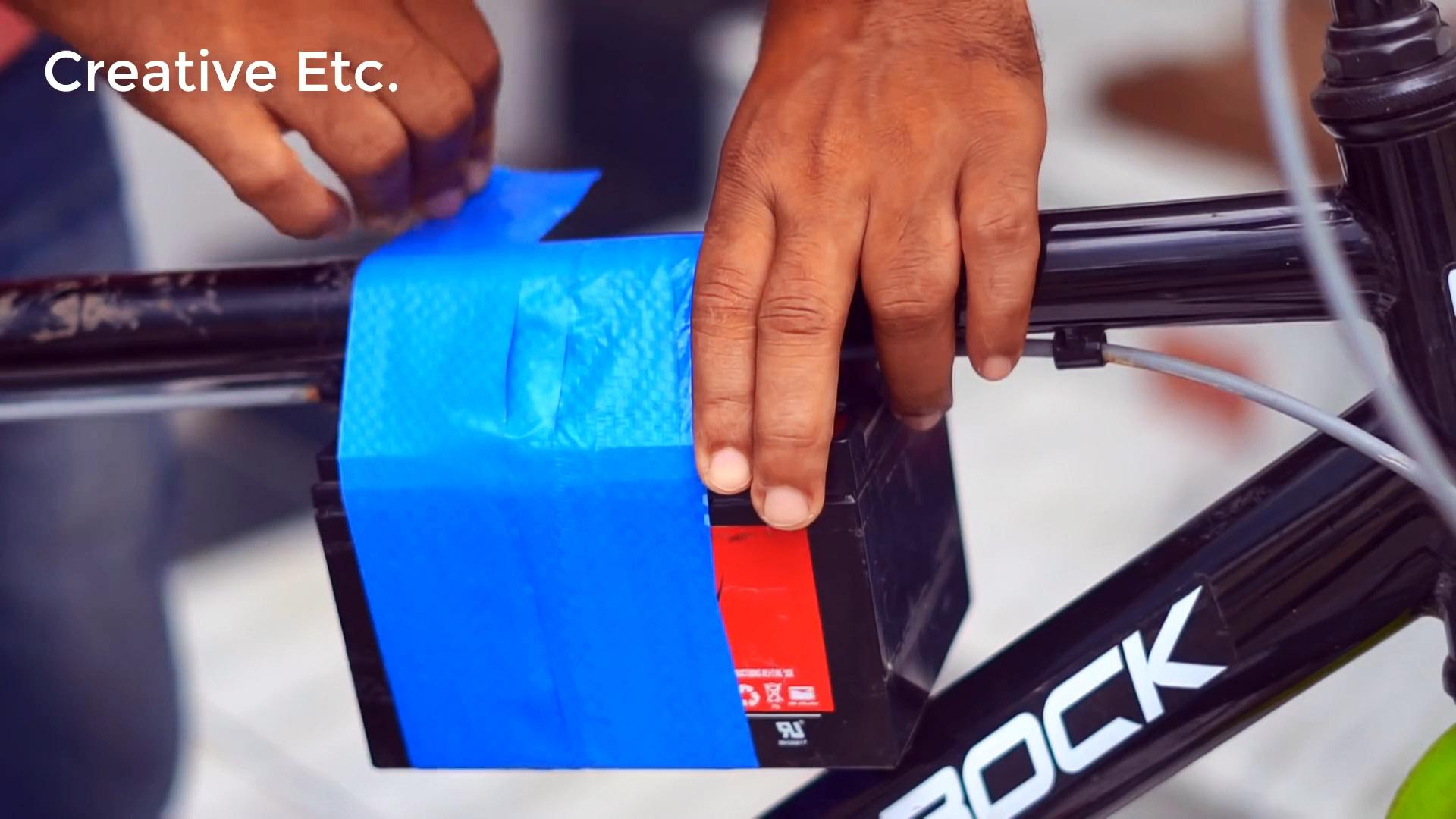 Как переоборудовать велосипед в электробайк со стартером вместо двигателя