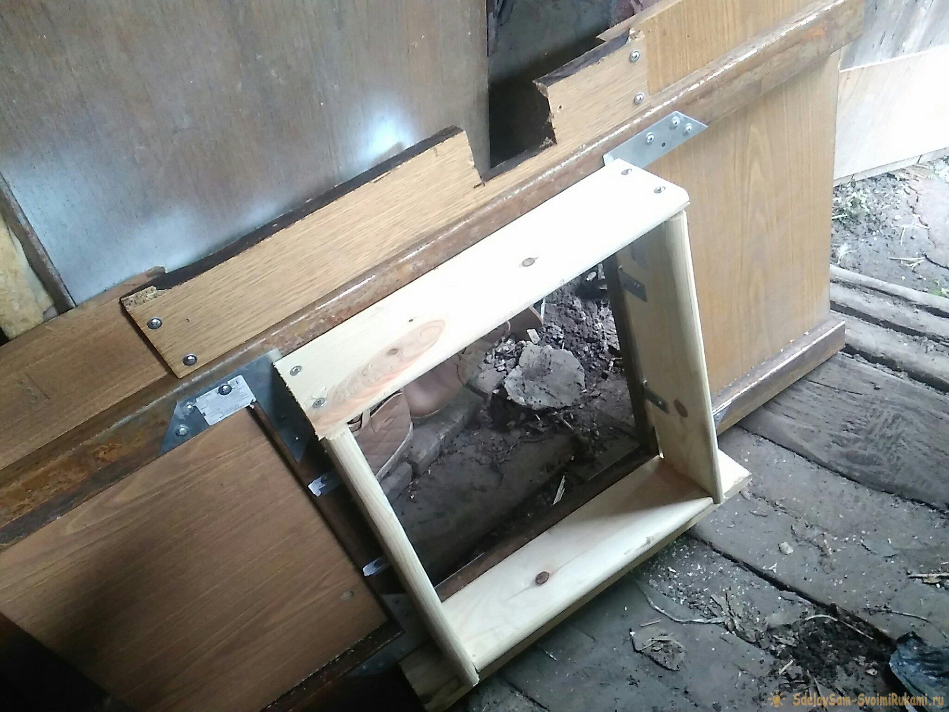 Как построить уличный туалет из блоков