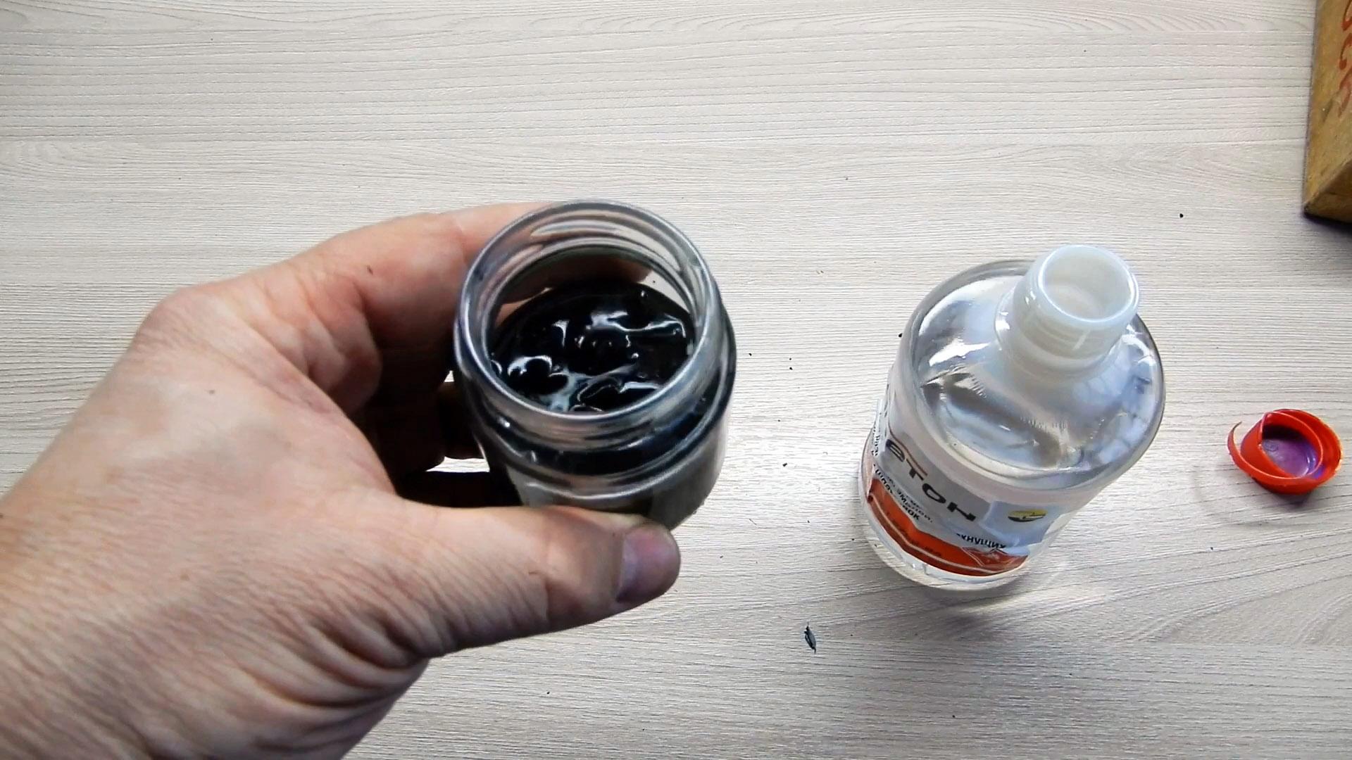 Как сделать клей - жидкий пластик