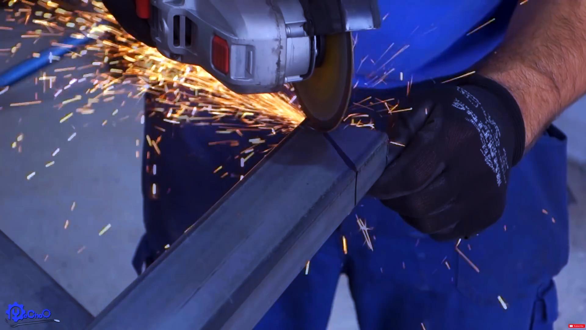 Как сделать гриль с баллоном для розжига и подъемной решеткой на основе автодомкрата