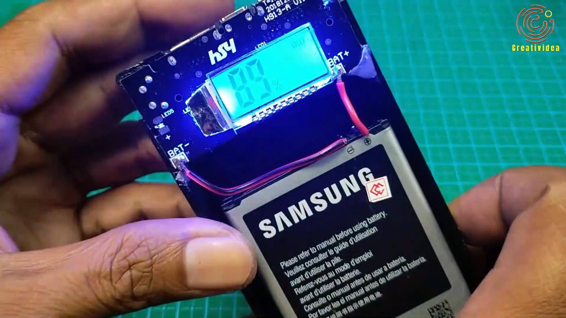 Как из аккумуляторов от старых мобильников сделать Power bank для смартфона