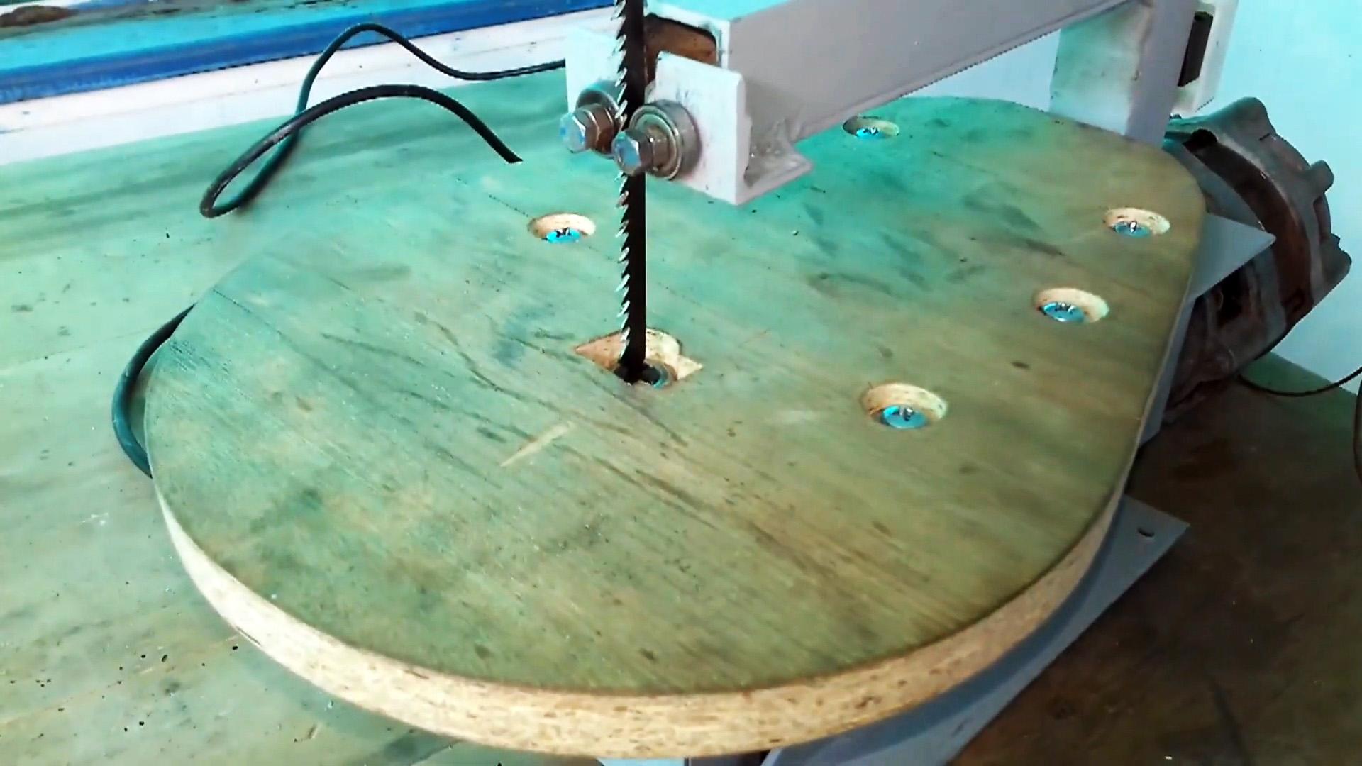 Как из мотора стиральной машины сделать лобзиковый станок