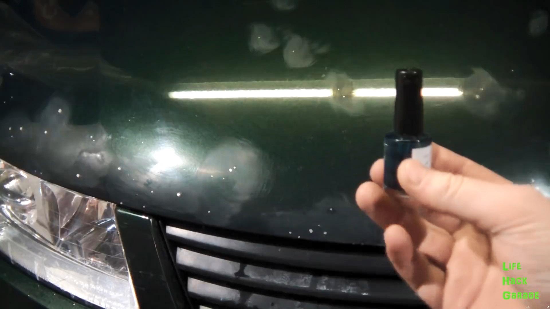 Как самому дешево отремонтировать сколы на капоте машины
