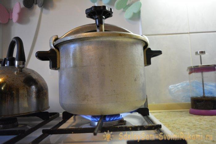 Домашнее консервирование горбуши в скороварке