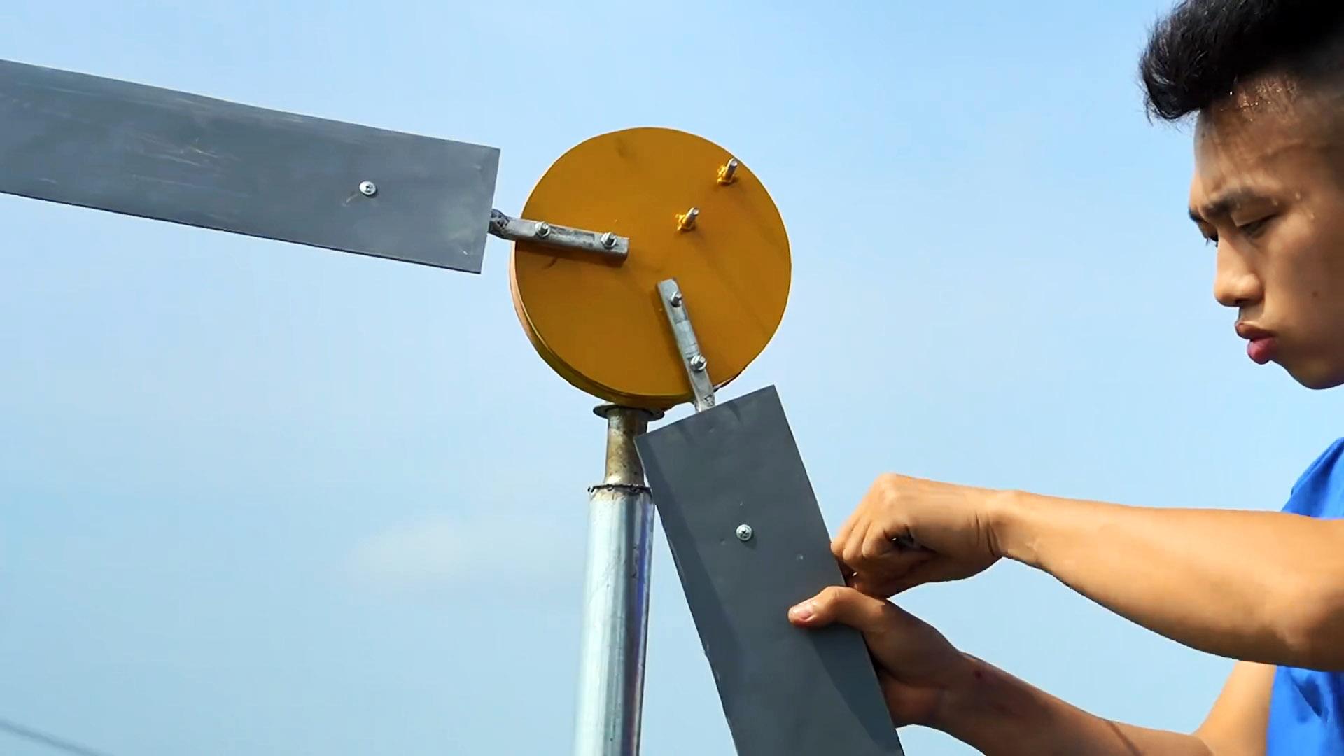 Ветрогенератор на 220В полностью своими руками