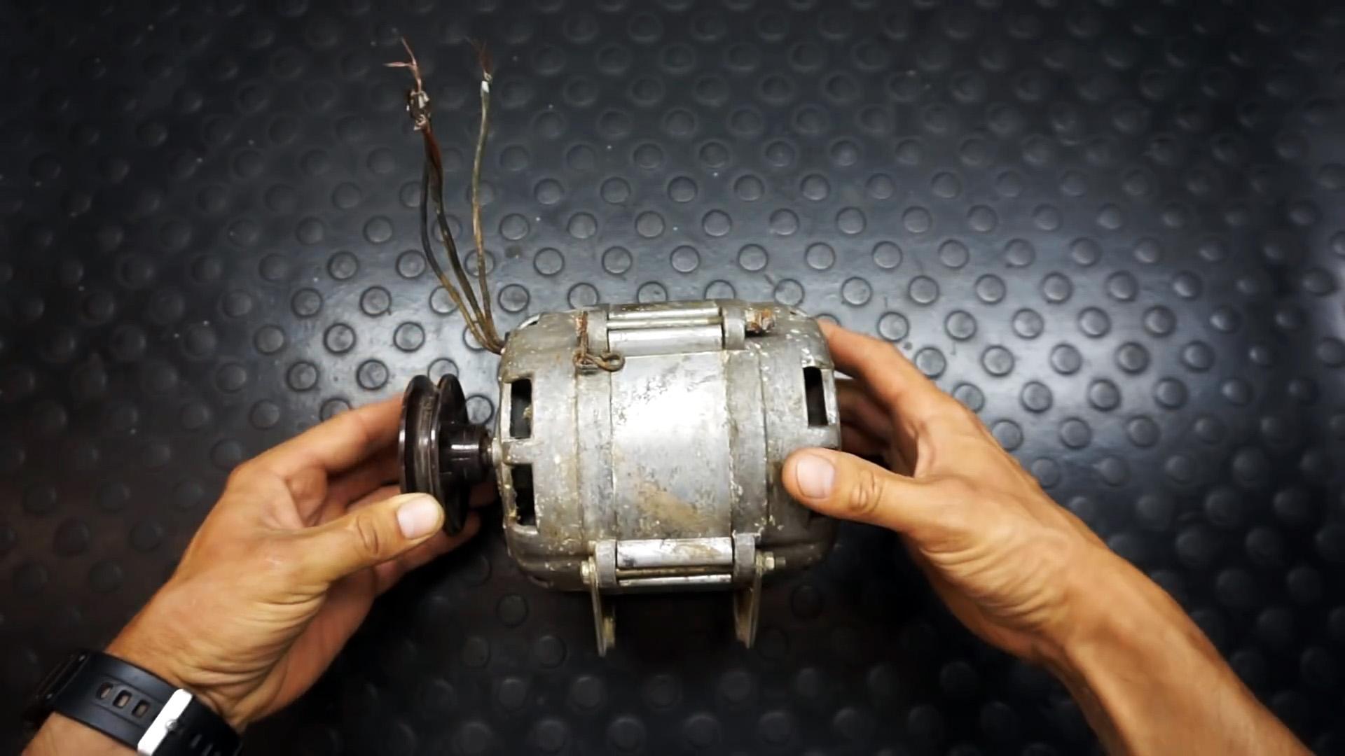 Как из двигателя стиралки собрать станок для шлифовки тормозных дисков в домашних условиях