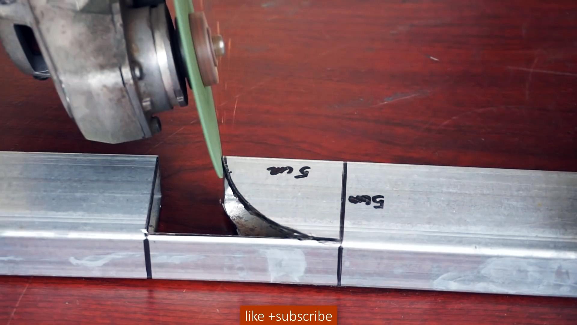 Как сварить трубу со скругленным углом под 90 градусов