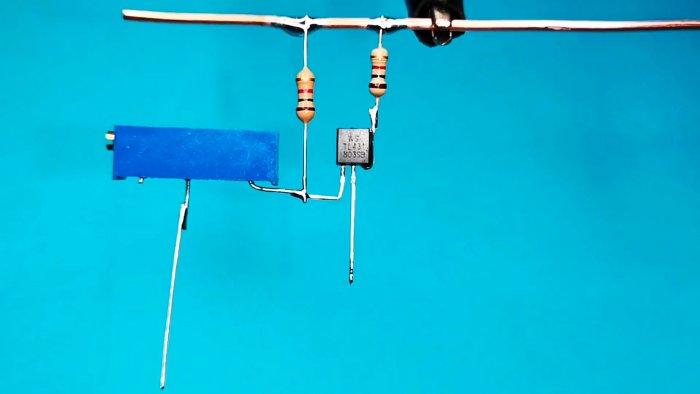 Ключ без реле с автоматическим отключением для зарядки АКБ