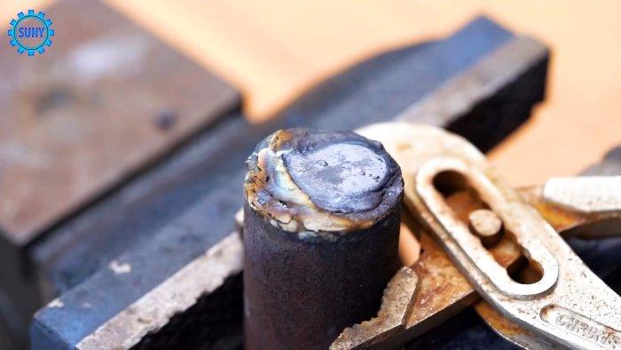 Лайфхак сварщику как усовершенствовать электрод для запайки и наплавки