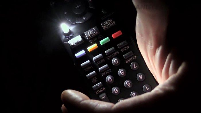 Как сделать подсветку кнопок для любого пульта ДУ