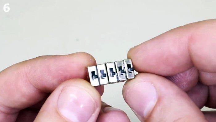 Как сделать флешку с кодовым замком