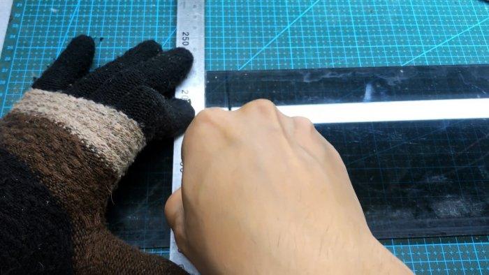 Чем можно резать стекло если нет стеклореза