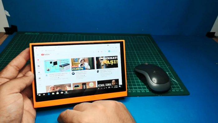 Как собрать мини компьютер-планшет на Windows 10