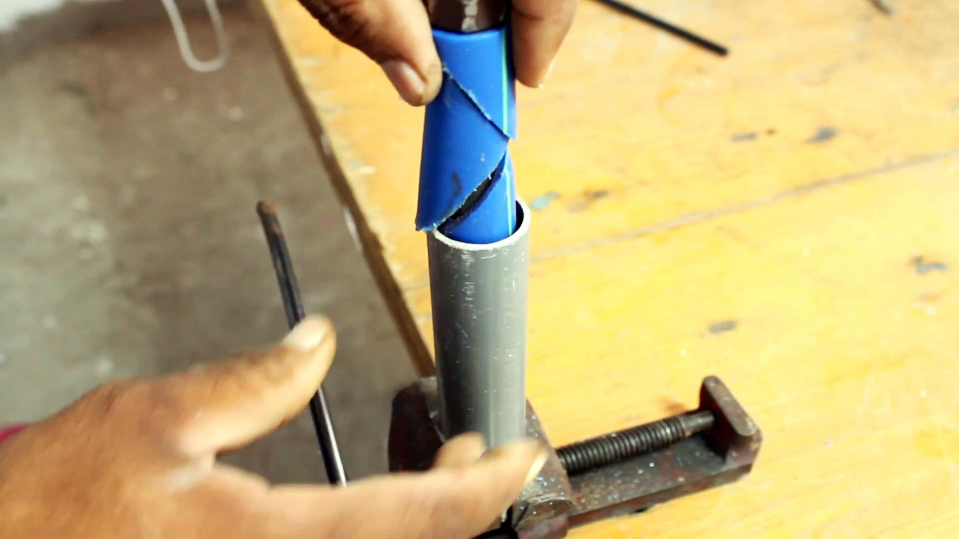 Как сделать анкер из пластиковых труб