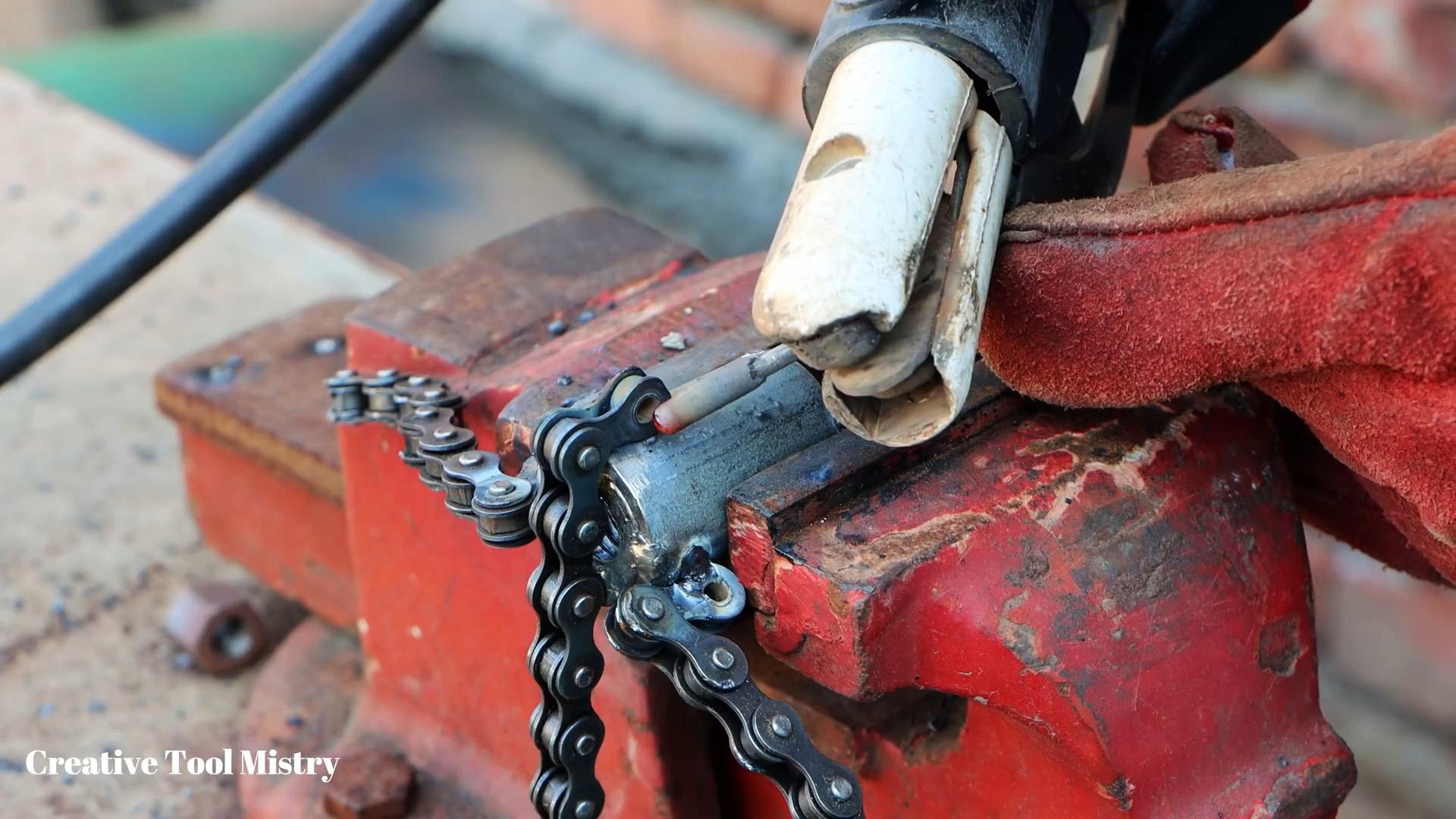 Съемник для подшипников из цепи своими руками