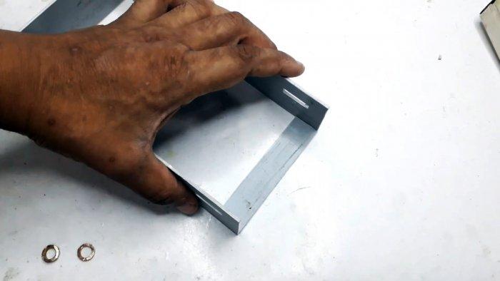 Мини ленточная шлифовальная машина своими руками
