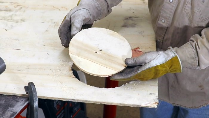 Фрезерный циркуль для шуруповерта своими руками