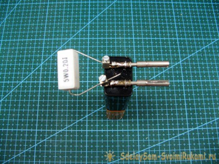 Полезная приставка к мультиметру для измерения низкоомных резисторов