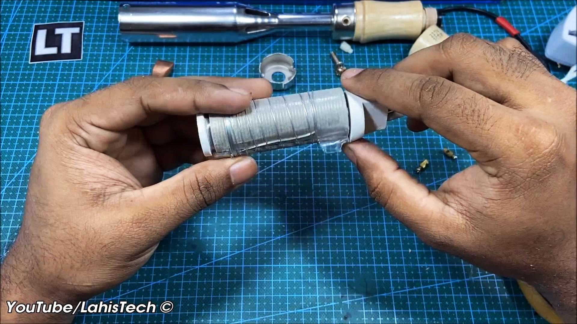 Как сделать из обычного паяльника термофен для пайки